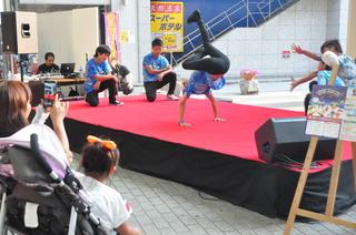 遊ばナイト高松2013,ブレイクダンス